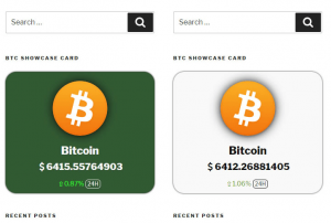 Crypto Payments Plus Crypto Showcase/Bade Cards